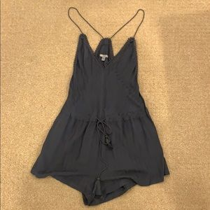 Urban Outfitters Grey Boho Romper